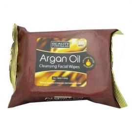 Beauty Formulas Argan Oil Cleansing Facial 30 Wipes