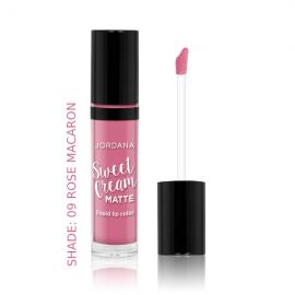 Jordana Sweet Cream Matte Liquid Lip Color – Rose Macaron