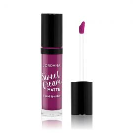 Jordana Sweet Cream Matte Liquid Lip Color – Currant Jam