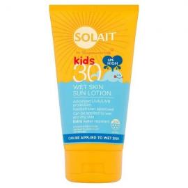 Superdrug Solait Kids Lotion Wet Skin SPF30 150ml