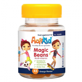 ActiKid® Magic Beans Multi-Vitamin Orange Flavour 45