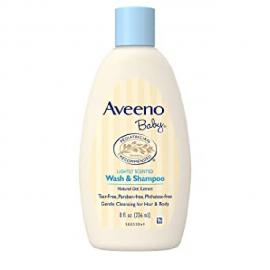 Aveeno Baby Wash & Shampoo For Hair & Body, Tear-Free, 8 oz.